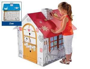 Colour Me Playhouse £7.99 instore Aldi from Thurs 19th Sept