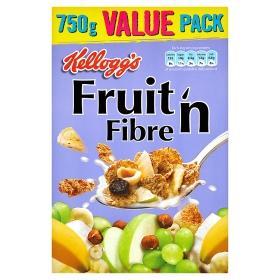 Kelloggs Fruit 'n Fibre 750g £2.00 @ Asda instore & online