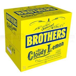 Brothers Lemon Cider is back! 36 bottles delivered for £51.29 @ DrinkSupermarket.com