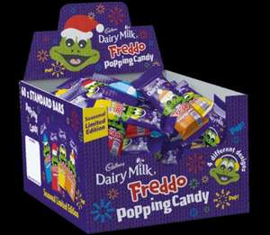 Freddo Popping Candy 18g 25p each or 3 for 50p CO-OP