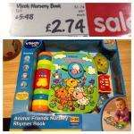 Vtech nursery rhymes book £2.74 @ Asda (instore)