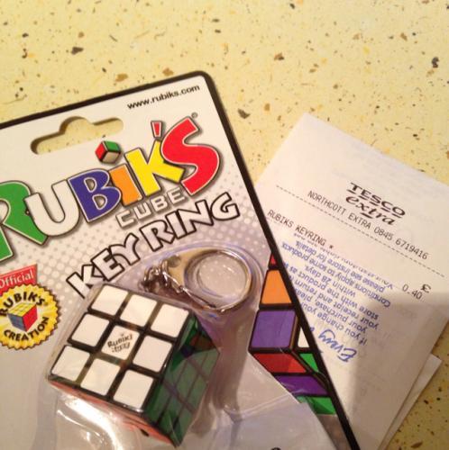 Rubiks cube 40p @ Tesco (instore)