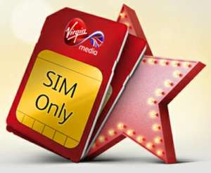 £15 SIM ONLY - UNLIMITED EVERYTHING - 30 DAY ROLLING @ Virgin