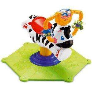 Fisher-Price Go Baby Go! Bounce & Spin Zebra- £26.66 (RRP £45) delivered @ Amazon