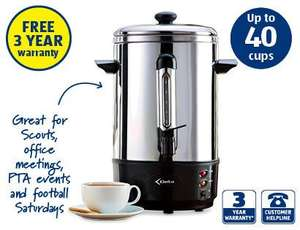7L Hot Water Urn for £29.99 @ Aldi from tomorrow