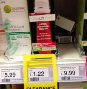 Garnier Ultra Lift Anti-wrinkle Roll On £1.22 in Superdrug