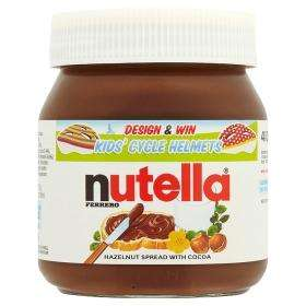 Nutella 400g was £2.25 now £1.50 at ASDA instore and online