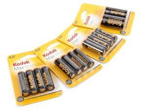 Kodak Alkaline AA 16 pack for £1.98 delivered at Ebuyer