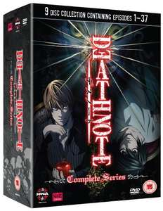Death Note Complete 1-37 series [DVD] - Amazon £23.46