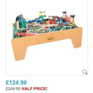 Mountain Rock  Train table and complete track set £124.99 @ toysrus