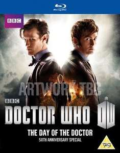 Doctor Who: The Day of the Doctor - 50th Anniversary Special Blu Ray 3D ( Pre-order) £11.25 @ Amazon
