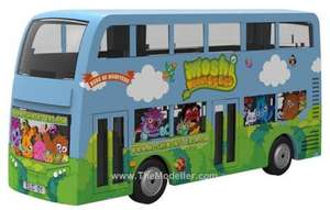 Moshi Monsters Diecast Bus £3.24 Delivered @ themodeller.com