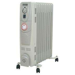 Oil Filled Portable Convector 2kW timer Radiator Save 64% £24.99 @ Screwfix