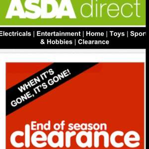 ASDA DIRECT CLEARANCE SALE