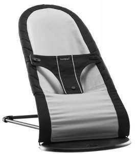 BabyBjorn Fabric Seat for Babysitter Balance Bouncer (Black/ Silver, Cotton Mix) for only £50.00 @ Amazon