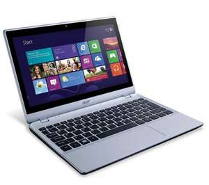 "V5-122P 11.6"" Touchscreen Laptop – Silver £299 @ PC World (possible 5% Quidco £284)"