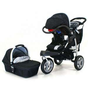Petite Star 3W Jogger 3-in-1 Travel System (inc carrycot, car seat, footmuff etc) £199.99 del @ Amazon