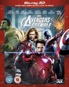 Marvel Avengers Assemble 3D (Includes 2D Version) Blu-ray £13.99 Delivered @ Zavvi (5% Quidco)