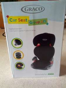 Graco car seat - Group 2/3 £15.00 at Asda instore