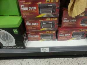 24V MINI OVEN £5.99 @ HOME BARGAINS FOR TRUCKERS