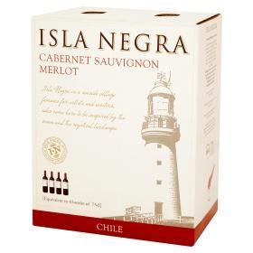 Isla Negra  Cabernet Sauvignon – Merlot 3lt red wine box £12.00 @ Asda instore