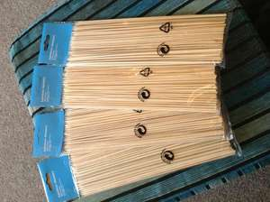 ASDA Bamboo Skewers (100 Piece) 25p
