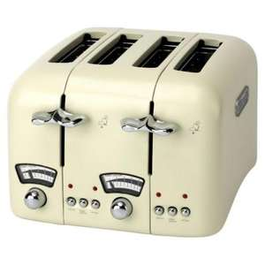 DeLonghi Cream 4-slice Toaster. Sainsburys online. £24.99