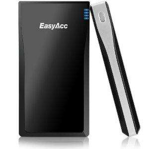 EasyAcc 10000mAh 2 x USB ports External Battery Pack Portable Charger for phones and tablets £19.99 - Sold by EasyAcc.U Store and Fulfilled by Amazon