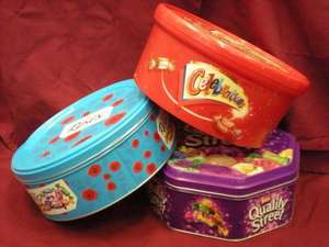 Roses, Quality Street & Celebration Tins £4 at Tesco