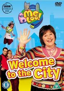 Cbeebies Me Too! - Welcome to the City Dvd now £3 del @ Amazon using code (+ get 20% off a selection of 14 other bbc kids dvds)