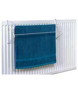 Set of 4 Indoor Radiator Airer/Towel Rails @ argos £3.99