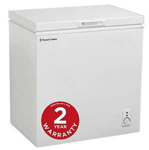 Russell Hobbs RHCF150 150L Chest Freezer £153.94 with Delivery @ Asda Direct