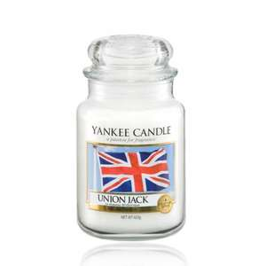 Yankee Candle Large Jar  Union Jack Only £8.50 delivered