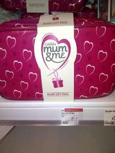 Cussons Mum and Me bump gift pack reduced to £2 instore at Asda (RRP £!5.99)