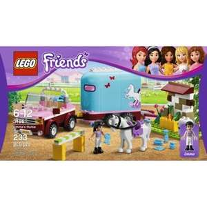Lego Friends Emmas Horse Trailer 3186 £9.99 instore at Sainsburys