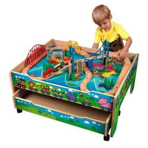 4 in 1 Activity Train Table with Drawer £59.99 + Free Delivery @ Smyths + 3% Quidco