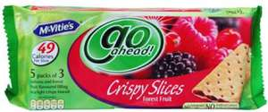 Go ahead crispy slices 1.00 asda, free with shopitize