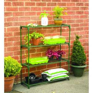 Wilko Greenhouse Staging 4 Tier only £7 @ Wilko.com (Free Collection)