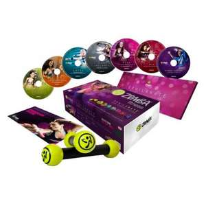 Zumba Exhilarate Body Shaping System DVD Fitness Pack @ Sainsburys - £18