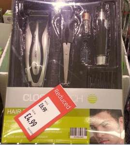 Close Touch Hair Trimmer Kit with Ear & Nose hair Trimmer reduced to £4.99 @ ALDI