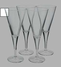 Tesco Direct 4 Conical Wine Glasses for £5 reduce from £9.97
