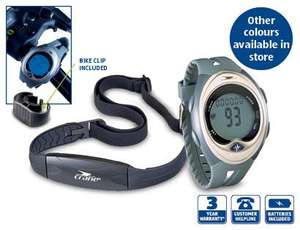 Watch Heart Rate Monitor £12.99 @ aldi