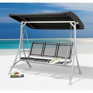 Homebase - Malibu Swing Hammock - 3 Seater - £99.99
