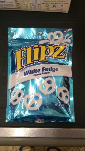Pretzel Flipz (White Fudge or Milk Chocolate) £3 at Asda!