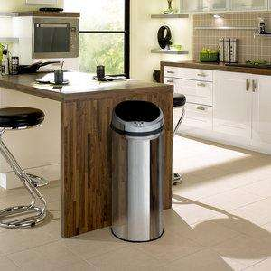 Inmotion 50L stainless steel auto sensor waste bin £29.99 @ Taps £5.00 delivery