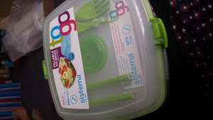 Sistema to go salad lunch box £2.85 instore @ Sainsbury's