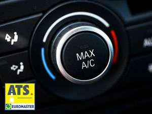 ATS Euromaster Car Air Conditioning Service and Anti-Bacterial Clean £33 (Amazon Local Deal)