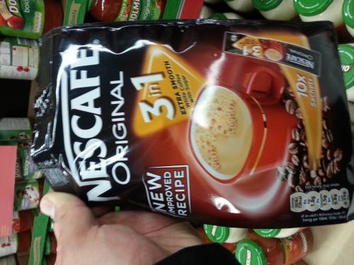 Nescafe 3 in1 coffee £1 @ Asda