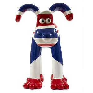 Gromit Unleashed Figurines £34.99 Each plus P&P @ Wild-in-art