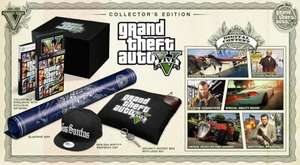 Grand Theft Auto V GTA5 Collectors Edition for Xbox 360 back in stock at Amazon for £109.99 delivered